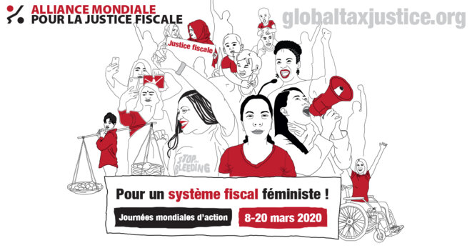 Pour un système fiscal féministe! © Global Alliance fro tax Justice