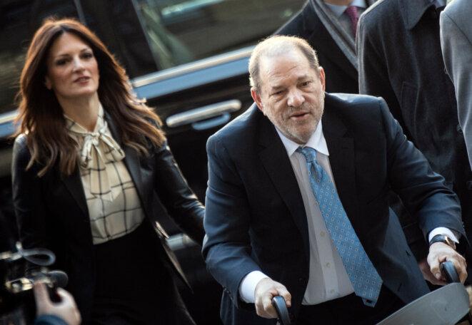 Harvey Weinstein et son avocate, Donna Rotunno. © Johannes EISELE / AFP