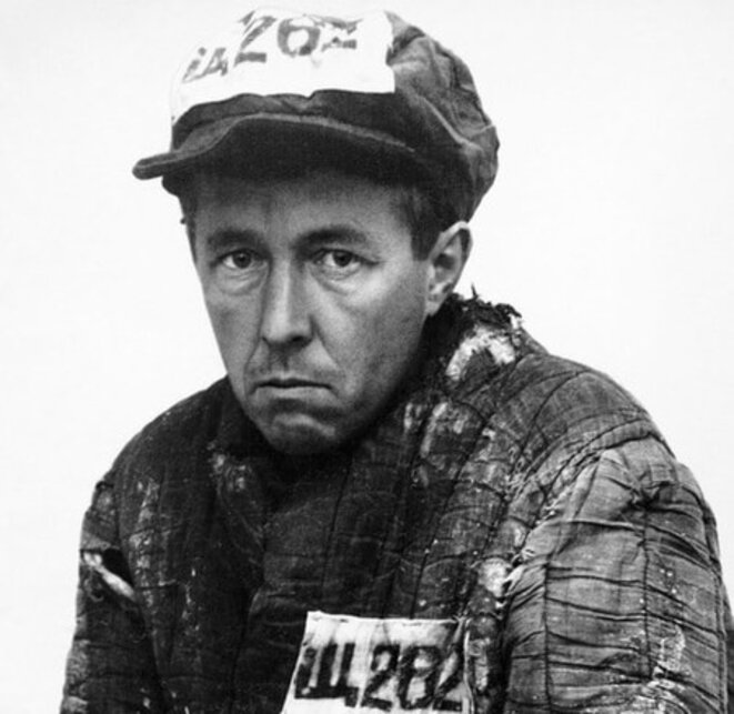 Aleksandr Solzhenitsyn as a prisoner in Kazakhstan, 1953 © Aleksandr Solzhenitsyn Center