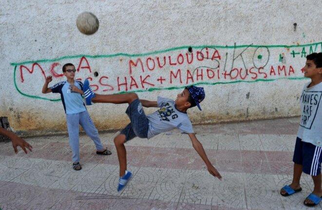 Le Mouloudia, un symbole pour les enfants de la Casbah d'Alger, encore aujourd'hui | © Ryad Kramdi