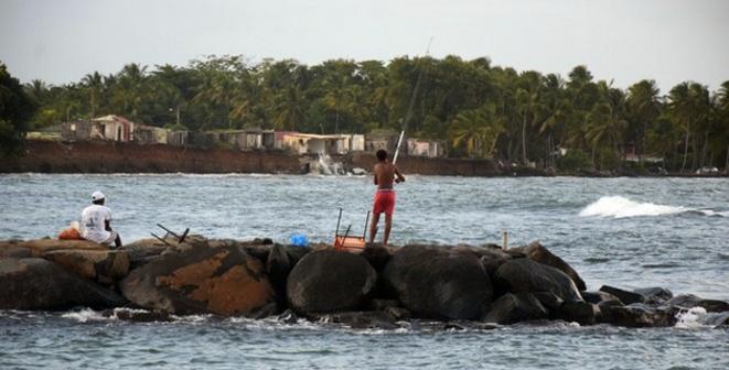 À Capesterre Belle Eau, Guadeloupe. © MB