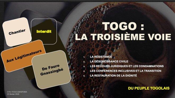 Togo : La troisième voie : l'indispensable transition