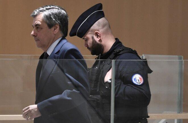 François Fillon le 27 février 2020. © STEPHANE DE SAKUTIN/AFP