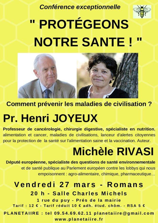 Conférence commune Rivasi-Joyaux, mars 2020