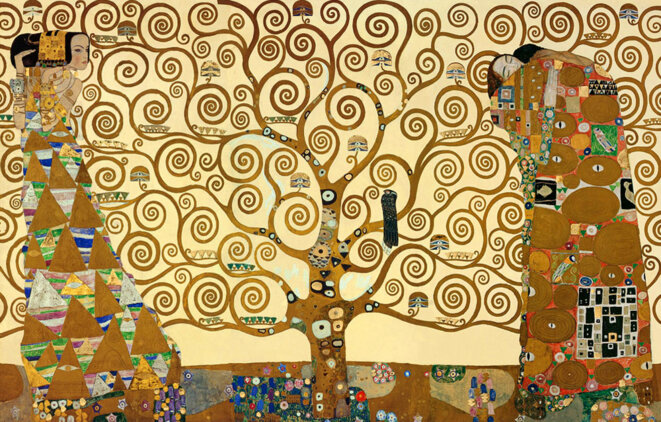 L'arbre de vie © Gustav Klimt