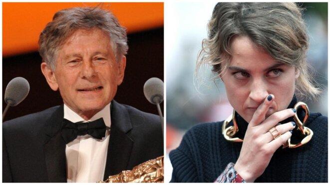 Adèle Haenel a quitté la salle Pleyel, furieuse, après que Roman Polanski a été récompensé.