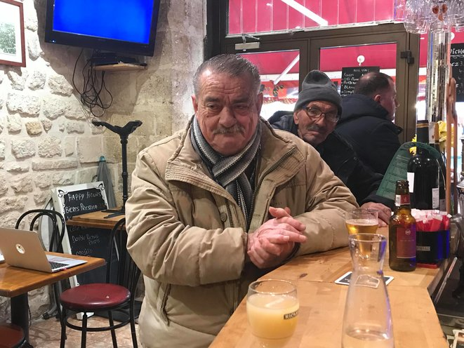 Jean, au bistrot d'Aligre. KZ
