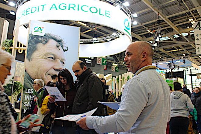 Christophe Bitauld vs Crédit Agricole au Salon de l'agriculture 2020 © Wikiagri