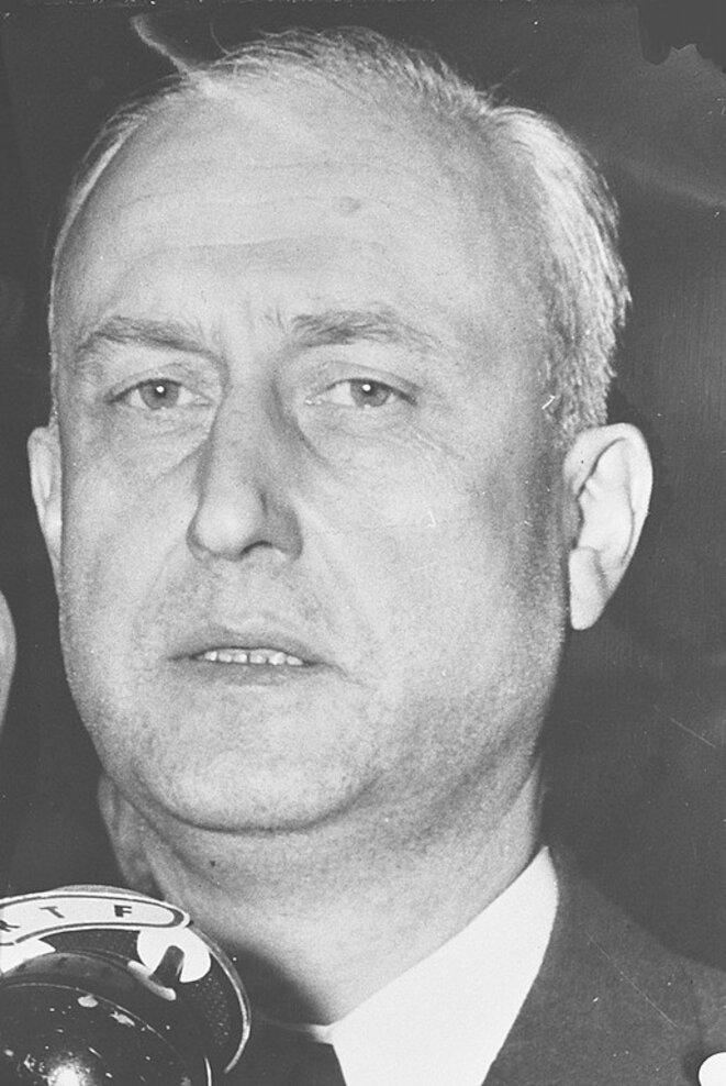 Pierre Pfimlin pendant la crise de mai 1958 © Archives nationales néerlandaises/Wikimedia Commons, domaine public