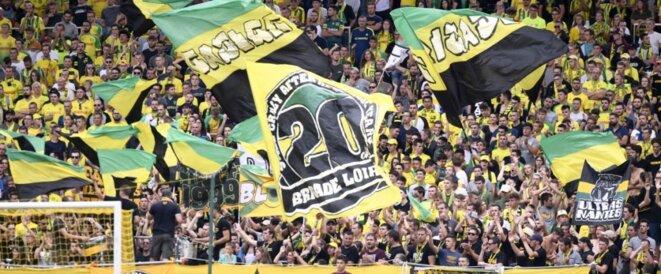 Une partie des supporters nantais rejette le nouvel emblème de leur club | © Panoramic