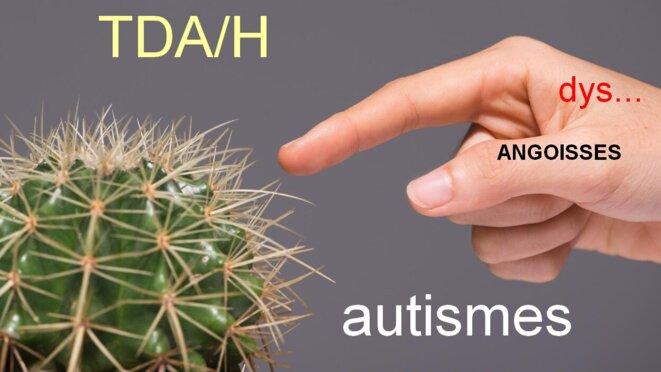 L'épineuse question du diagnostic : TDA/H, autismes, névroses, états-limites-psychoses... © Jean-Luc ROBERT