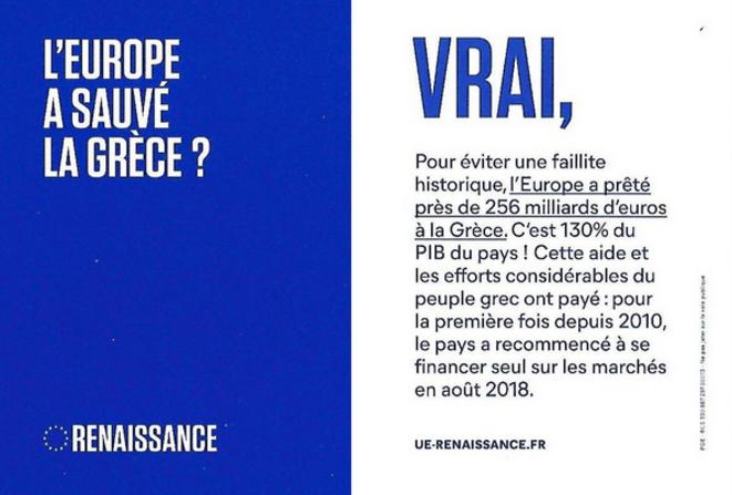 Tract LREM aux européennes 2019