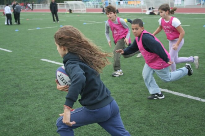 Rencontre USEP Scolarugby