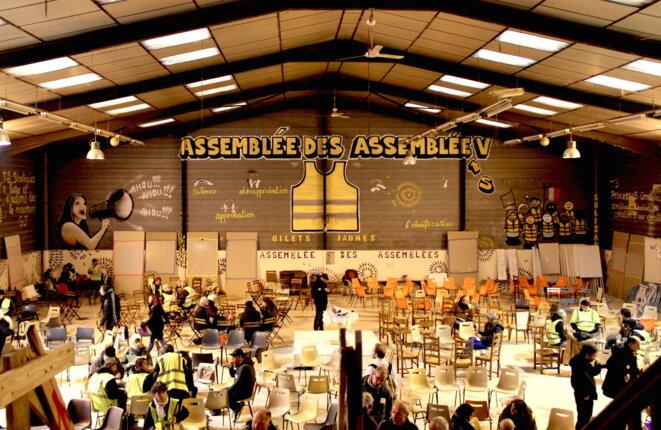 Réunion de l'assemblée des assemblées, à Toulouse © ER