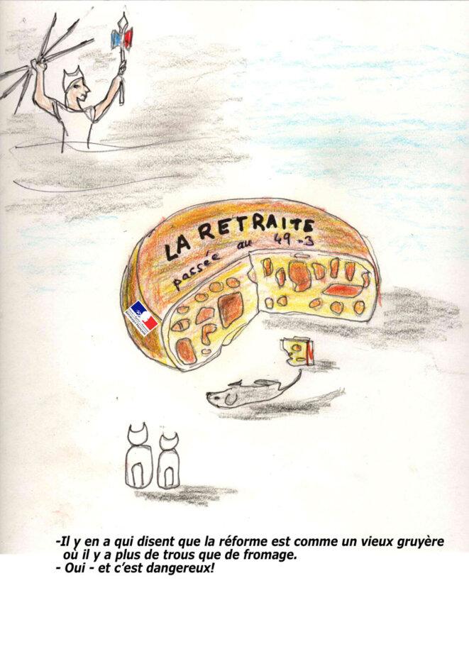Le fromage © Luc de Visme
