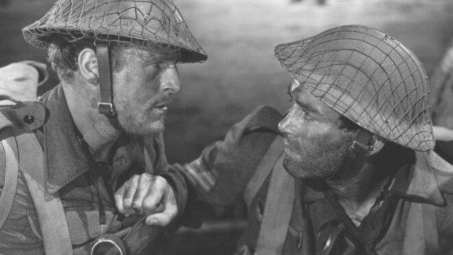 """""""Aventure en Libye"""" (Immortal Sergeant) de John M. Stahl © Les Films du Paradoxe"""
