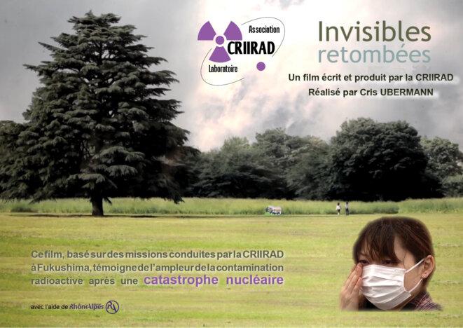 """Film CRIIRAD """"Invisibles Retombées"""" © CRIIRAD"""
