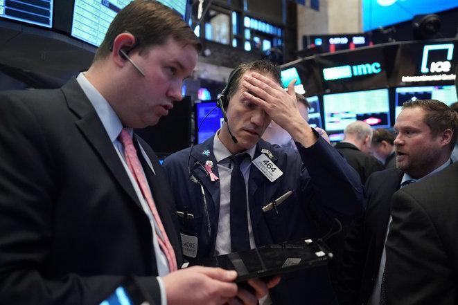 En la Bolsa de Nueva York el 9 de marzo. © Reuters
