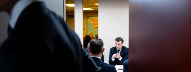 Conseil de défense du 8 mars 2020 sur le Covid-19 (DR)