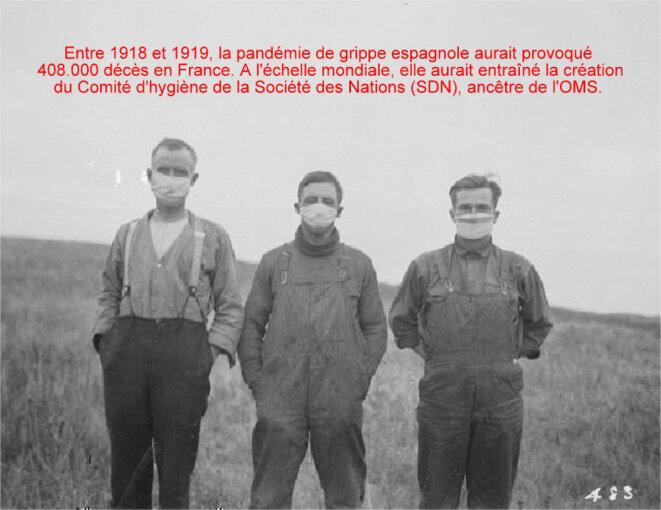 La grippe espagnole de 1918 © Pierre Reynaud