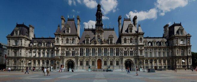 L'Hôtel de ville de Paris où siègent les édiles, où se dessine le destin de Paris depuis 1357, et où peut-être, demain, on votera l'acceptation de la monnaie locale par les services publics parisiens ! © Wagner51, Wikimedia
