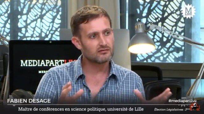Fabien Desage à Mediapart.