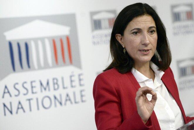 Sandrine Mazetier. © AFP