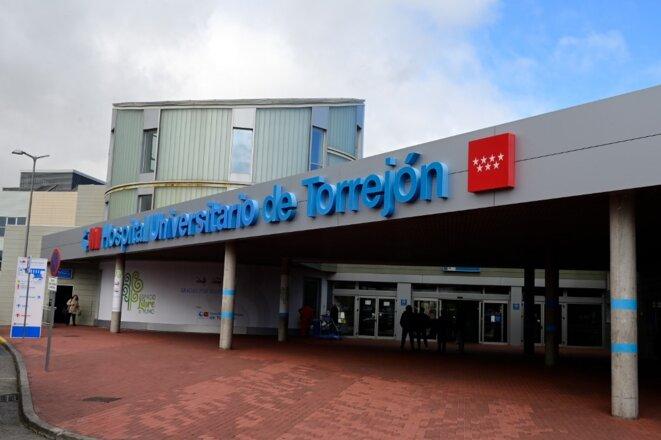 Un hôpital du grand Madrid, à Torrejón de Ardoz, le 3 mars 2020. © AFP