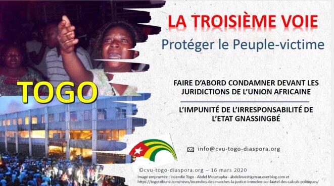 Togo, La troisième voie, L'alternative du Peuple victime
