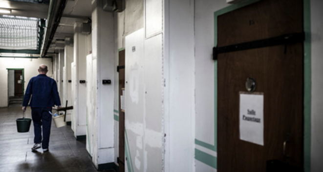 The prison in Fresnes, south of Paris. © AFP