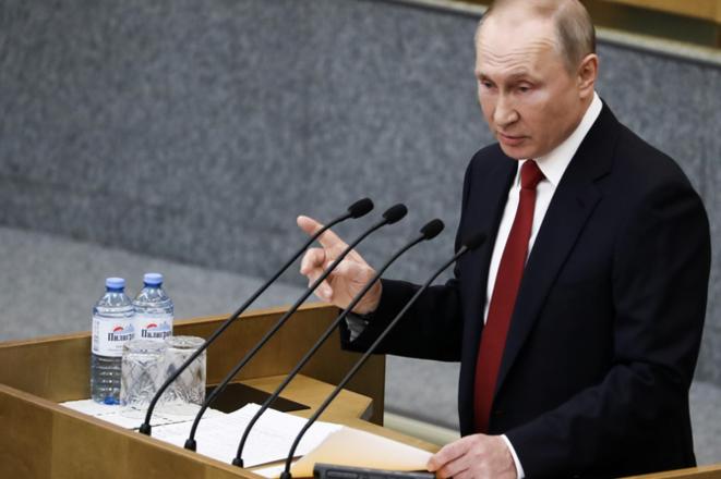 Vladimir Poutine. © (Reuters)
