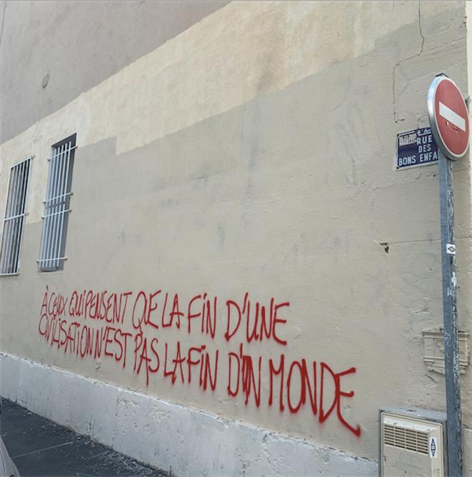 Marseille, rue des Bons-Enfants, mars 2019. Là où habitait ma grand-mère © ET