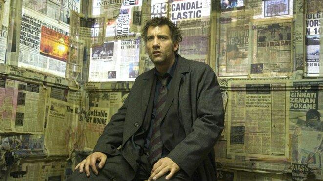 Capture d'écran du film : les fils de l'Homme d'Alfonso Cuarón