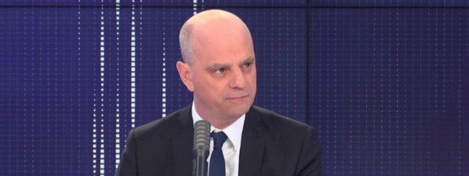 Jean-Michel Blanquer sur France Info le dimanche 15 mars [capture d'écran]