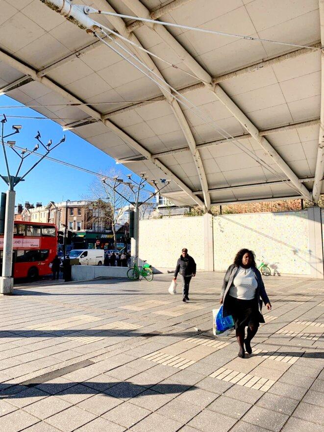 Peckham, où beaucoup de supermarchés ont été pillés © Lavinia Nocelli