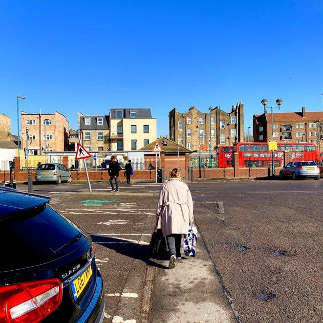 Londres, vue sur le quartier de Peckham © Lavinia Nocelli