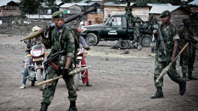 Soldats FARDC en 2013 dans l'Est du Congo © Monusco