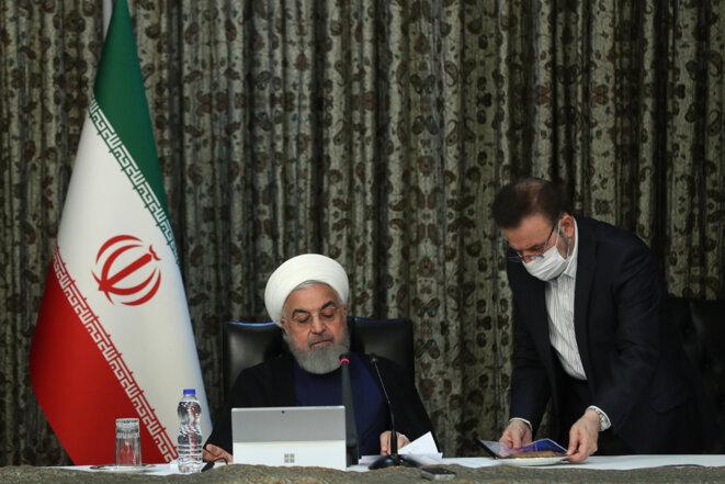 Le président iranien Hassan Rouhani. © AFP
