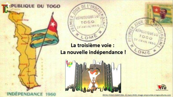 Togo, La troisième voie, la nouvelle indépendance