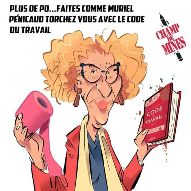 © Champ de mines