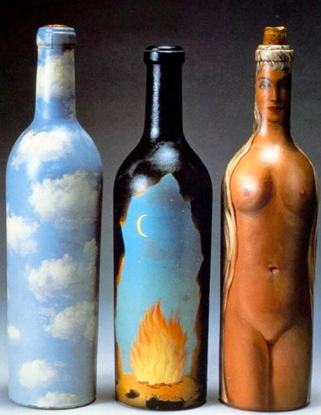 Magritte - 3 bouteilles