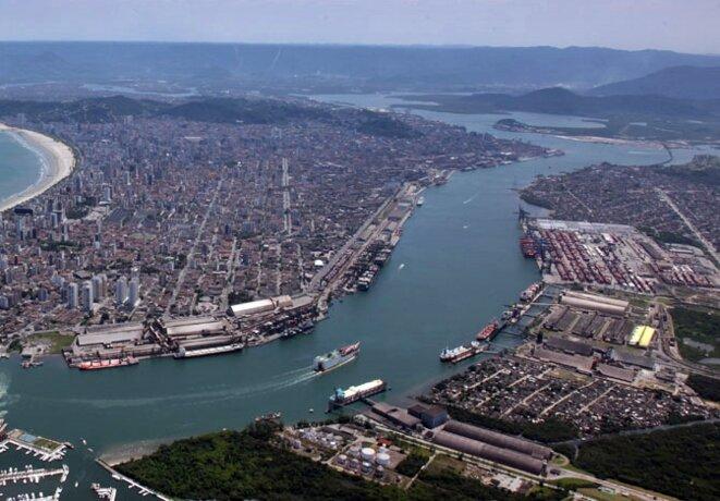 the Brazilian seaport of Santos