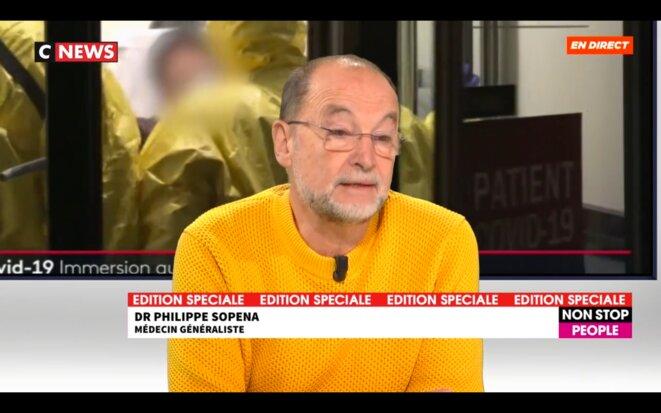 Dr Sopena sur Cnews