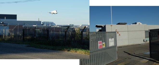 CRA de Cornebarrieu, tout près des pistes de l'aéroport de Blagnac, Toulouse [Photos YF]