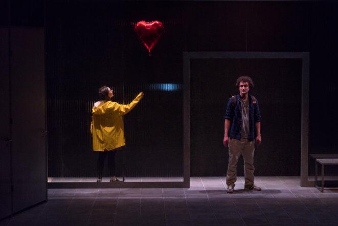 Normalito, m.e.s. et écriture de Pauline Sales, pièce créée en février 2020 au Théâtre Am Stram Gran, Genève © Ariane Catton