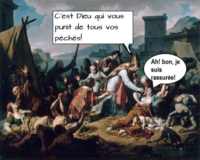 La Grande Peste de Marseille en 1720 © JP Boudet