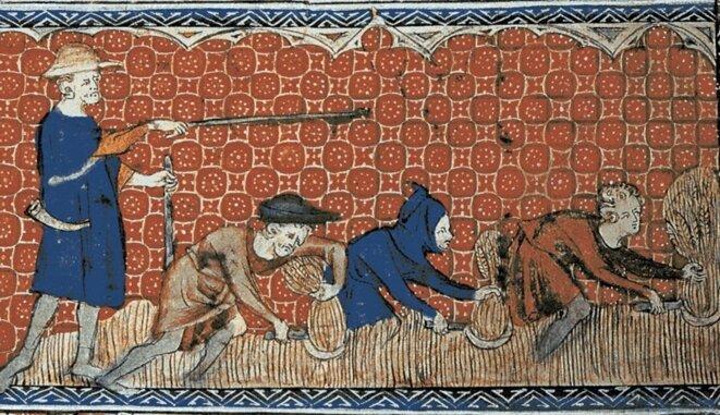 Enluminure, 1310-1320 [British Library, Londres]