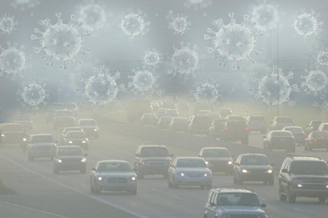 La pandémie du coronavirus propagée par le diesel © MJR
