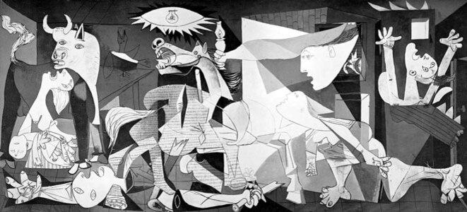 Picasso, Guernica © Picasso