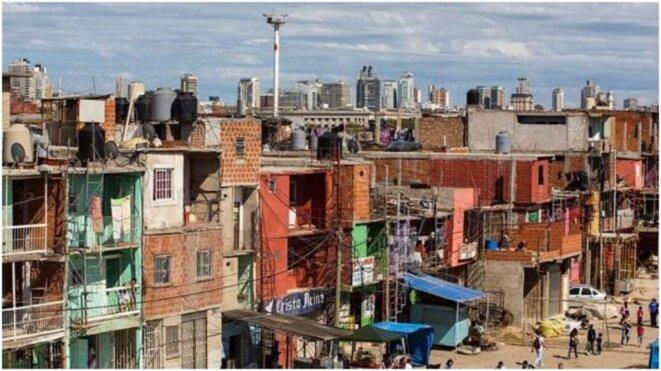Plus de cinq millions de personnes vivent dans des urbanisations précaires en Argentine. © CEDOC